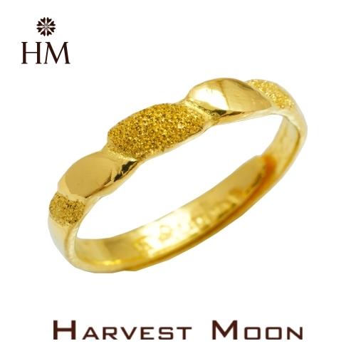 Harvest Moon 富家精品 黃金尾戒 節節高升 9999 純金金飾 女尾戒子 黃金戒指 可調式戒圍 GR03913