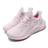 adidas 慢跑鞋 Alphaboost 粉紅 灰 女鞋 運動鞋 【PUMP306】 EF1181