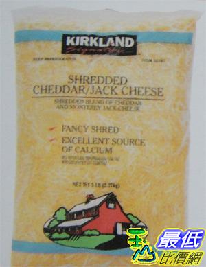 [COSCO代購]  需低溫宅配 Kirkland 乾酪絲 2.26KG _907587