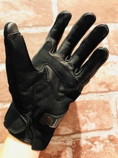 【東門城】UGLYBROS UGB-515(金屬黑) 復古牛仔風防摔手套 硬式護具