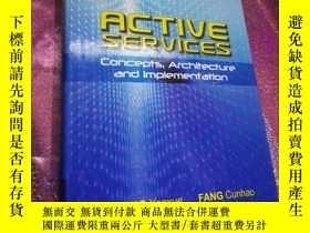 二手書博民逛書店Active罕見Services : Concepts, Arc