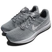 Nike 慢跑鞋 Air Zoom Vomero 13 灰 白 避震穩定 跑鞋 運動鞋 男鞋【PUMP306】 922908-003