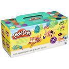 黏土 培樂多Play-Doh 創意DIY黏土 繽紛20色黏土組 A7924