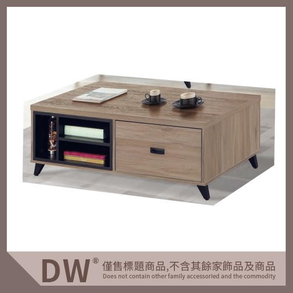 【多瓦娜】19046-105006 古橡色大茶几(J99)