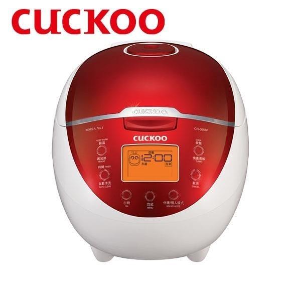 【南紡購物中心】Cuckoo福庫 微電腦炊飯電子鍋 CR-0655F