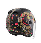 【好市吉居家生活】Lubro Helmet 賭場至尊 3/4安全帽 賽車帽 (預購商品約1月中到貨)