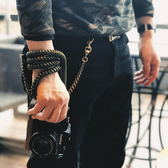 相機背帶粗繩手縫皮套款 復古手工編織富士索尼 米希美衣ATF
