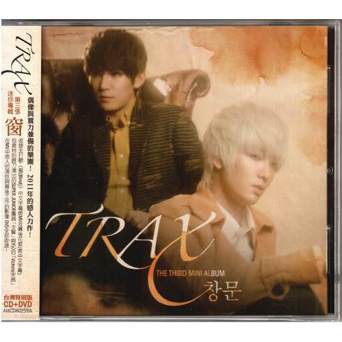 TRAX  窗CD附DVD 第三張迷你專輯台灣特別版 政模 SUPER JUNIOR 希