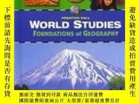 二手書博民逛書店World罕見Studies Foundations Of Geography Student Edition-世