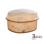 碗筷收納架 廚房家用帶蓋碗盆碗碟置物架塑料碗櫃裝碗筷收納盒放碗箱瀝水碗架 6色T【快速出貨】