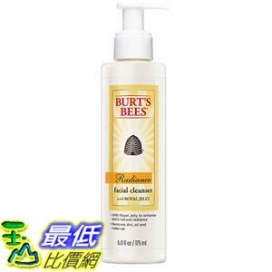 [美國直購] Burt s Bees Radiance Facial Cleanser with Royal Jelly, 6 Fluid Ounce B0027TUK7A 潔面乳
