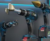 手電鑽 充電式大功率手電鑽多功能工業級13mm鋰電鑽充電手槍鑽強力彩鋼鑽 DF 免運全館免運!~`