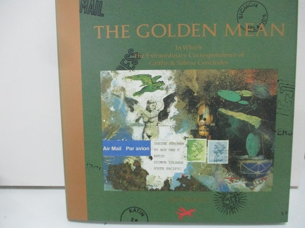 【書寶二手書T1/原文小說_DQK】The Golden Mean: In Which the Extraordinary…