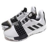 adidas 籃球鞋 Harden Vol.3 J 白 黑 BOOST 三代 低筒 哈登 女鞋 運動鞋【PUMP306】 AC7535