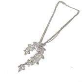 Dior 迪奧 鏤空楓葉鑲水鑽造型項鍊 【 二手品牌BRAND OFF】
