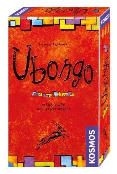 【德潮購】銷售第一名的德國桌遊七巧版 mini ubongo 烏邦果✨攜帶方便