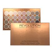 【Makeup Revolution】32色全霧面大地色啞光眼影盤【ALaSo美妝】