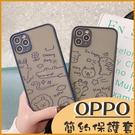 (附掛繩)OPPO Reno 4 z reno4 Pro Reno 2 RenoZ 鏡頭保護 手機殼 可愛彩繪卡通殼 霧面防指紋 軟殼