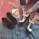 秋季新款正韓潮流街拍青年帆布鞋平板鞋學生百搭潮運動休閒男鞋子 滿899元八九折爆殺