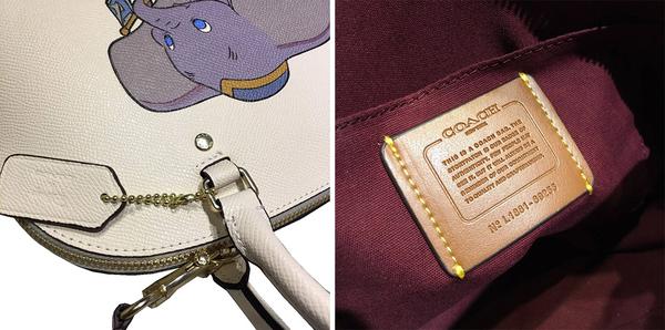 ~雪黛屋~COACH 貝殼包小容量附長背帶國際正版保證進口防水防刮皮革品證購證塵套提袋C692551