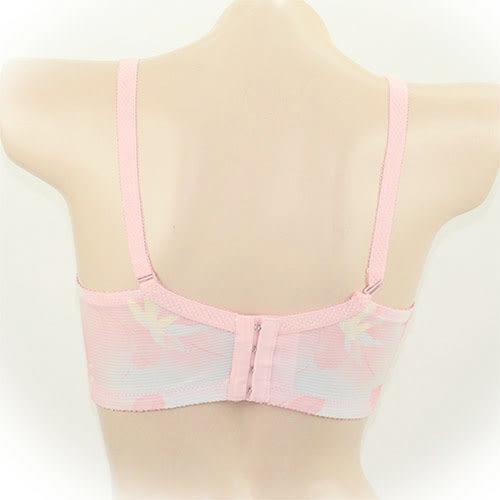 [特價區 $189/件] 刺繡蕾絲全薄一體式罩杯有鋼圈抹胸內衣 下胸圍 73~88cms 可穿