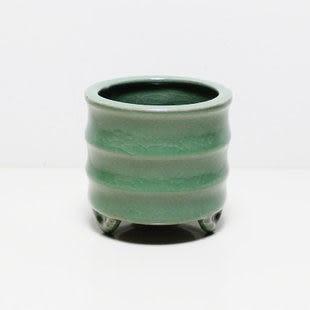 龍泉青瓷 翠清空熏香爐 品香杯