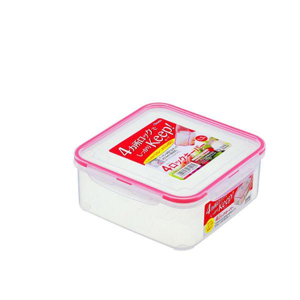 日本.inomata正方形多用途保鮮盒1300ml