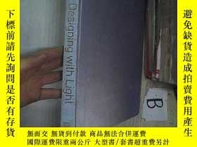 二手書博民逛書店Designing罕見with Light 燈光設計(A01)Y