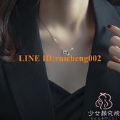 925純銀項鏈女輕奢小眾設計感鎖骨鏈【少女顏究院】