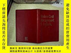 二手書博民逛書店Modern罕見Cost Management & Analysis(現代成本管理分析)Y203004
