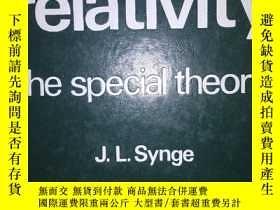 二手書博民逛書店愛因斯坦罕見相對論 英文原版《relativity the special theory》Y19620 J.L