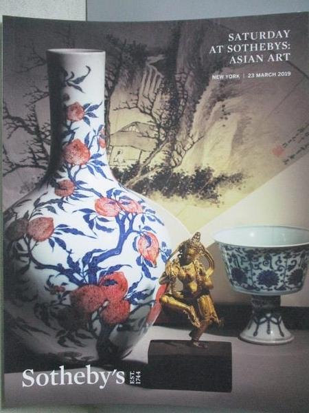 【書寶二手書T9/收藏_JRF】Saturday At Sotheby s:Asian Art_2019/3/23
