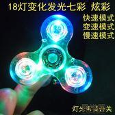 館長推薦☛指尖陀螺兒童發光玩具七彩帶燈
