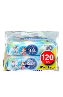 【愛吾兒】貝親 pigeon 除菌濕巾60抽/ 2入