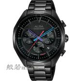 ALBA 雅柏 東京賽車計時手錶-黑