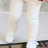 棉質內刷毛膝蓋棉格內搭褲 長褲 童裝 橘魔法Baby magic 現貨