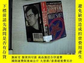 二手書博民逛書店STEPHEN罕見KING NIGHT SHIFT (001)Y