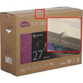 【免運費-外箱破損】BenQ 明基 SW2700PT 27型 QHD專業顯示器 / AHVA (IPS) 10bit 面板 / 27吋 / 廣色域