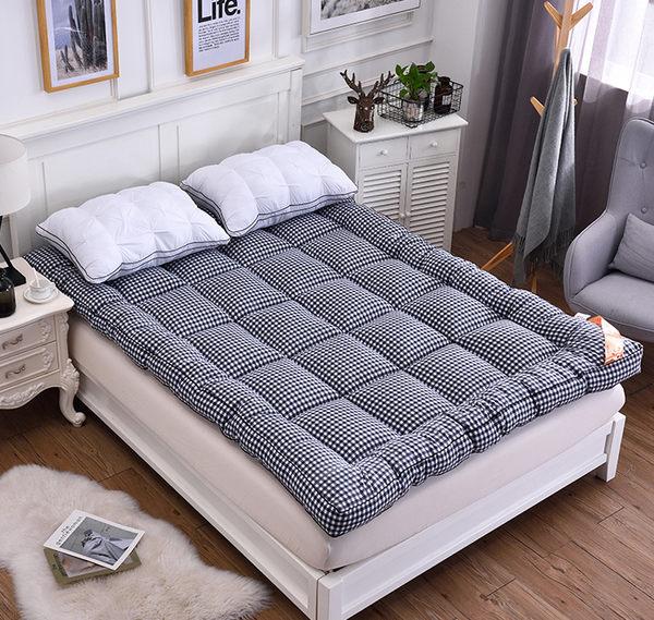 快速出貨-床墊加厚軟床墊1.5m1.8m可折疊榻榻米床褥子雙人單人學生宿舍保暖墊被