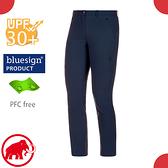 【MAMMUT 長毛象 女 Hiking pants 長褲《藏青》】1022-00430/休閒運動褲/彈性透氣/防曬/輕量機能