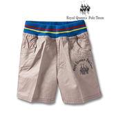 棉質純色平織短褲 RQ POLO 小童春夏款[16126]