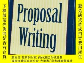 二手書博民逛書店GUIDE罕見TO Proposal WritingY20115