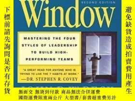 二手書博民逛書店The罕見Leader s Window: Mastering The Four Styles Of Leader