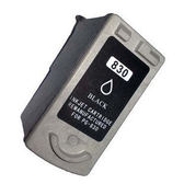 CANON 環保墨水匣PG-830/PG830/830 黑色(二倍容量)適用iP1880/iP1980/MP145/MX308/MX318/MP198印表機墨水夾