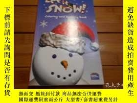 二手書博民逛書店LET罕見IT SNOW ! COLORING AND ACTI