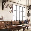 裝飾壁貼【WD-063 樹枝上的金絲雀】藝術壁貼 空間設計 無毒無痕 窗貼 創意壁貼 英國設計 現貨供應