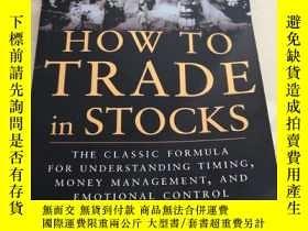 二手書博民逛書店如何交易股票罕見How to Trade In StocksY442307