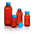 《DURAN》YOUTILITY 茶色血清試藥瓶GL45 Amber Bottle, Media, Screw Cap, GL45 PP Cap