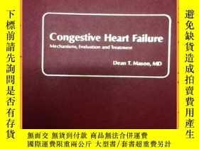 二手書博民逛書店英文書罕見congestive heart failure 充血性心力衰竭Y16354 詳情見圖片 詳情見圖片