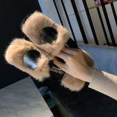 馬丁靴網紅拖鞋女季秋外穿2018新款韓版百搭歐洲站半拖包頭時尚毛毛鞋子-大小姐韓風館